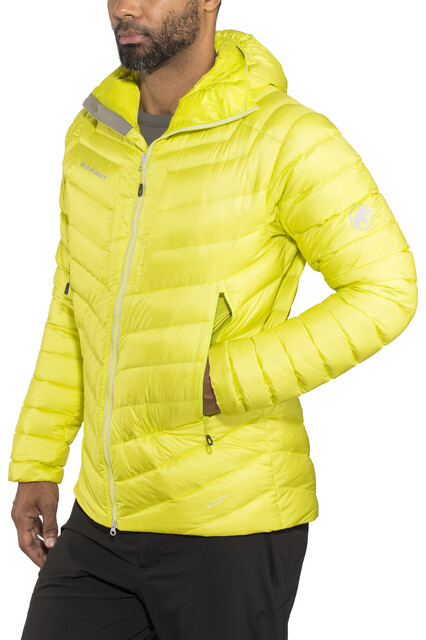 Mammut Klettergurt Waschen : Mammut broad peak in hooded jacket men canary campz